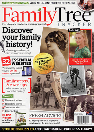 family tree tracker magazine hits the shelves
