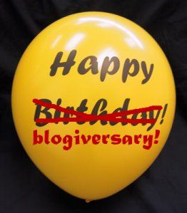 It's Our 4th Blogiversary