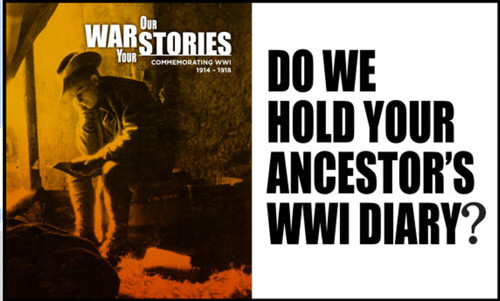 Our War Your Story - SLNSW War Diaries