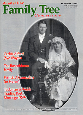 Australian Family Tree Connections – January 2014 Issue Out Now