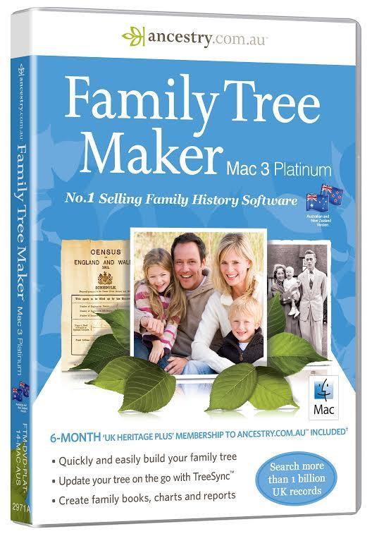 Family Tree Maker for Mac 3 Australia and New Zealand Edition