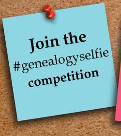 Genealogy + Selfie = #genealogyselfie