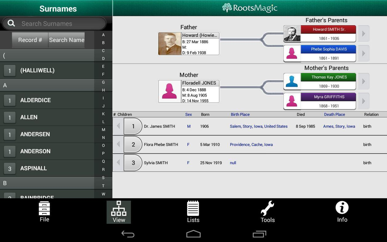 rootsmagic app for android released