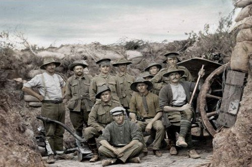 WW1 in colour