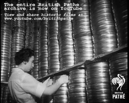 British Pathé Releases 85,000 Historic Films on YouTube