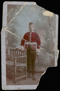 Scottish soldier, Andrew Cox