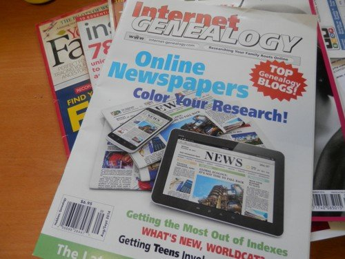 A Thankyou to Internet Genealogy Magazine