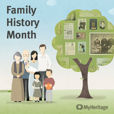MyHeritage Celebrates National Family History Month