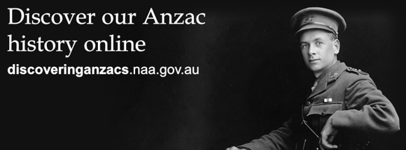 """Discovering Anzacs"" Website Launched"