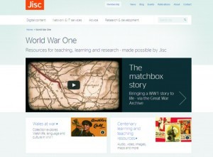 WW1 Project - Jisc