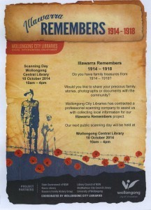 WW1 Projects - Illawarra Remembers