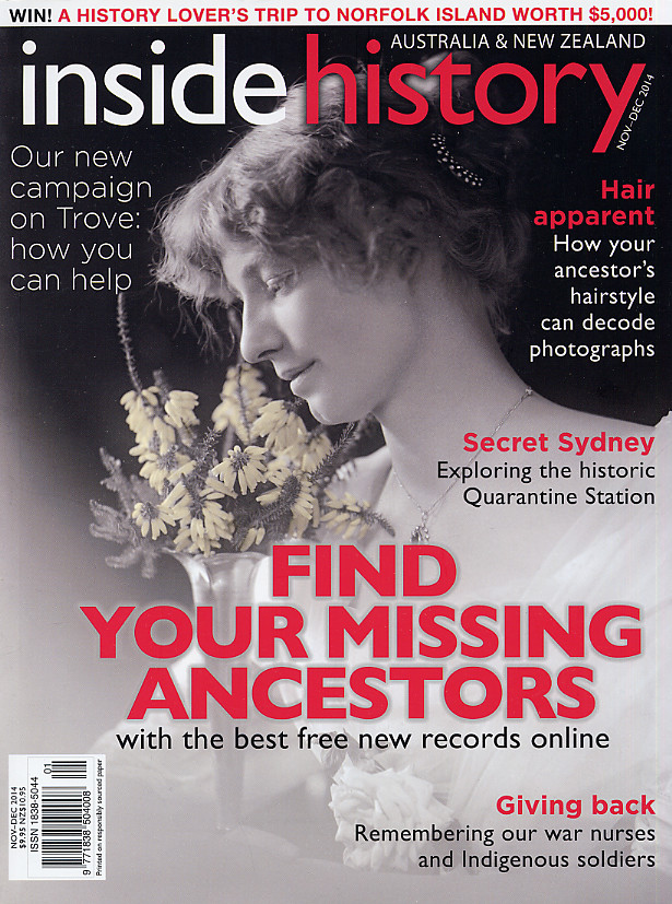 Inside History Magazine – Issue 25 (Nov-Dec 2014) is Out Now