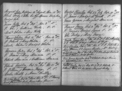 Irish Catholic Parish Registers