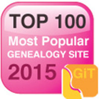Top 100 Genealogy Websites for 2015