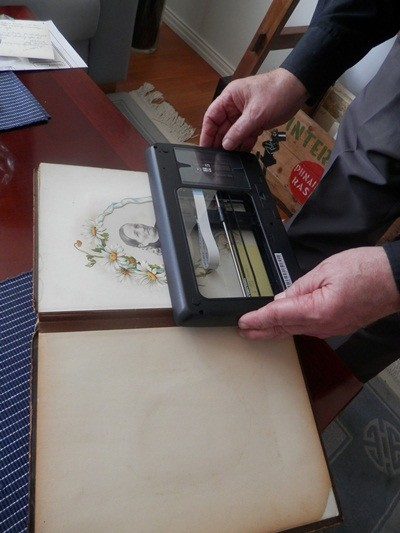 Finland, the Old Photo Album, and the Scanner