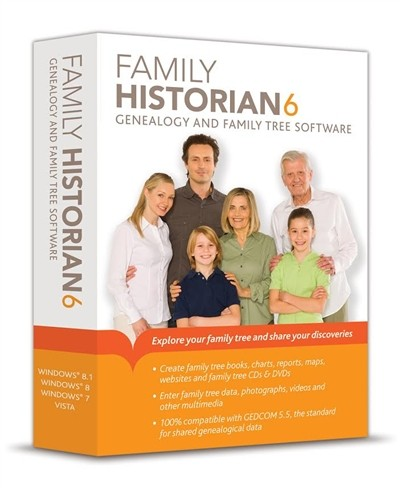 Family Historian 6.1 Has Been Released