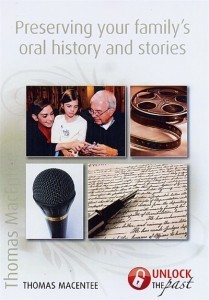 UTP0423-2 Preserving Your Family's Oral History and Stories