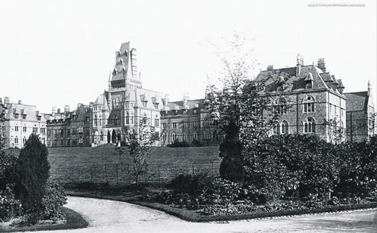 Royal Lunatic Asylum c1878, Lancaster, Lancashire