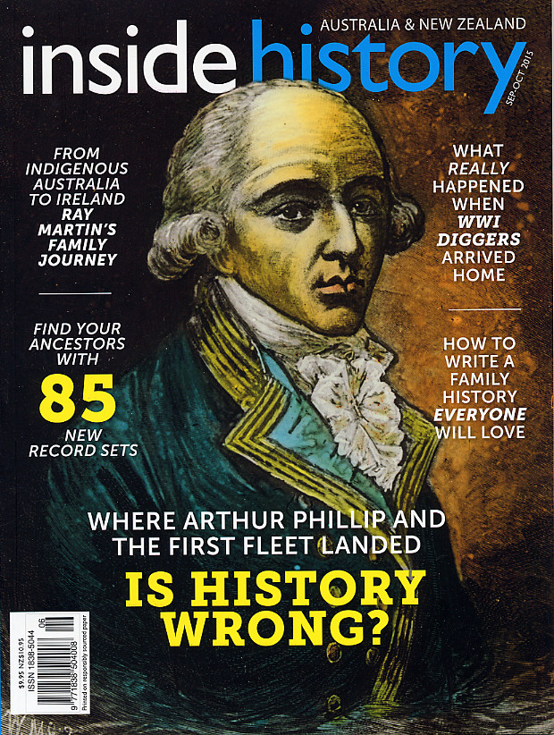 Inside History Magazine – Issue 30 (Sep-Oct 2015) is Out Now