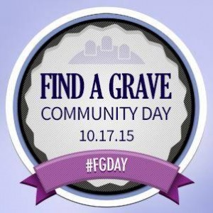 Find-A-Grave-community-day-2015
