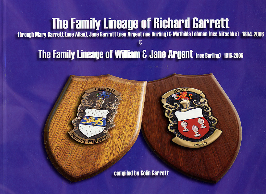 Garrett Family History – Last Few Copies Available