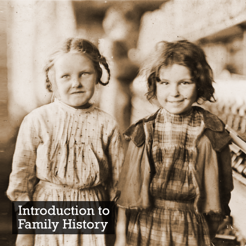 """Introduction to Family History"" with UTAS is on Again"
