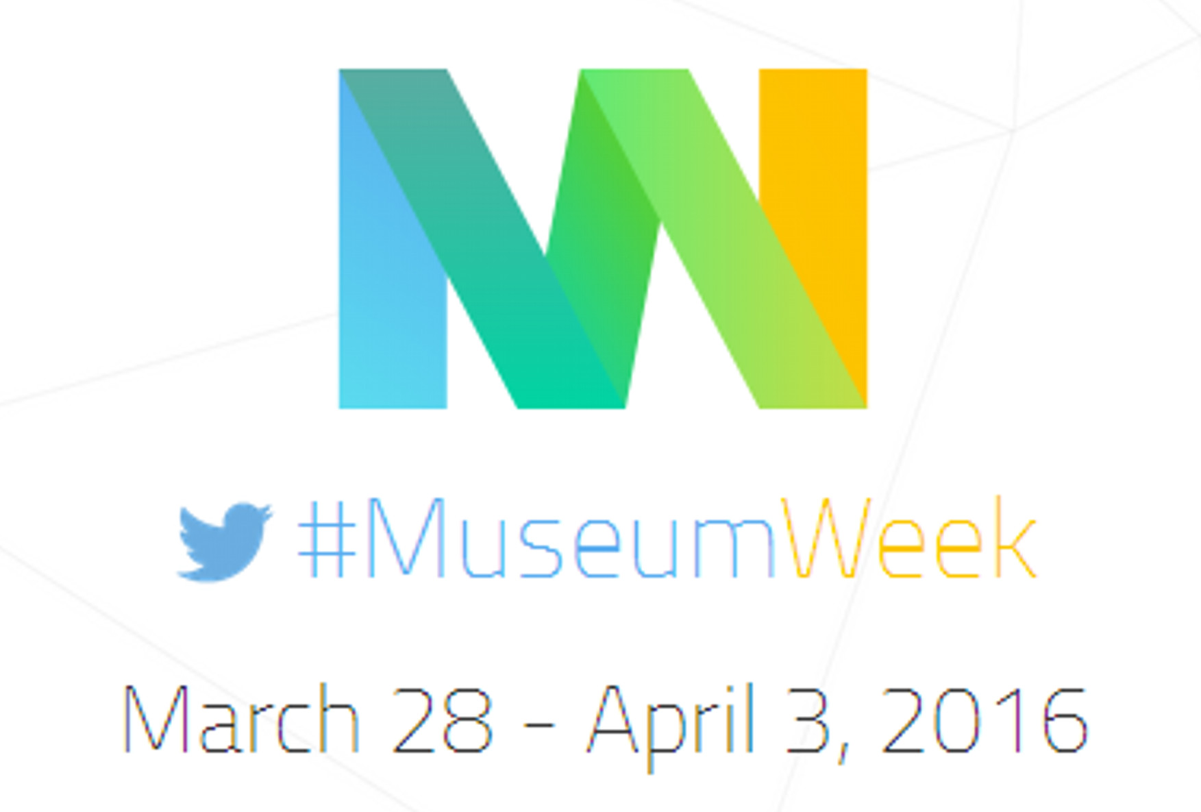 #MuseumWeek – 28 March to 3 April 2016