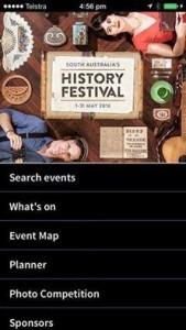 SA History Festival 2016 app