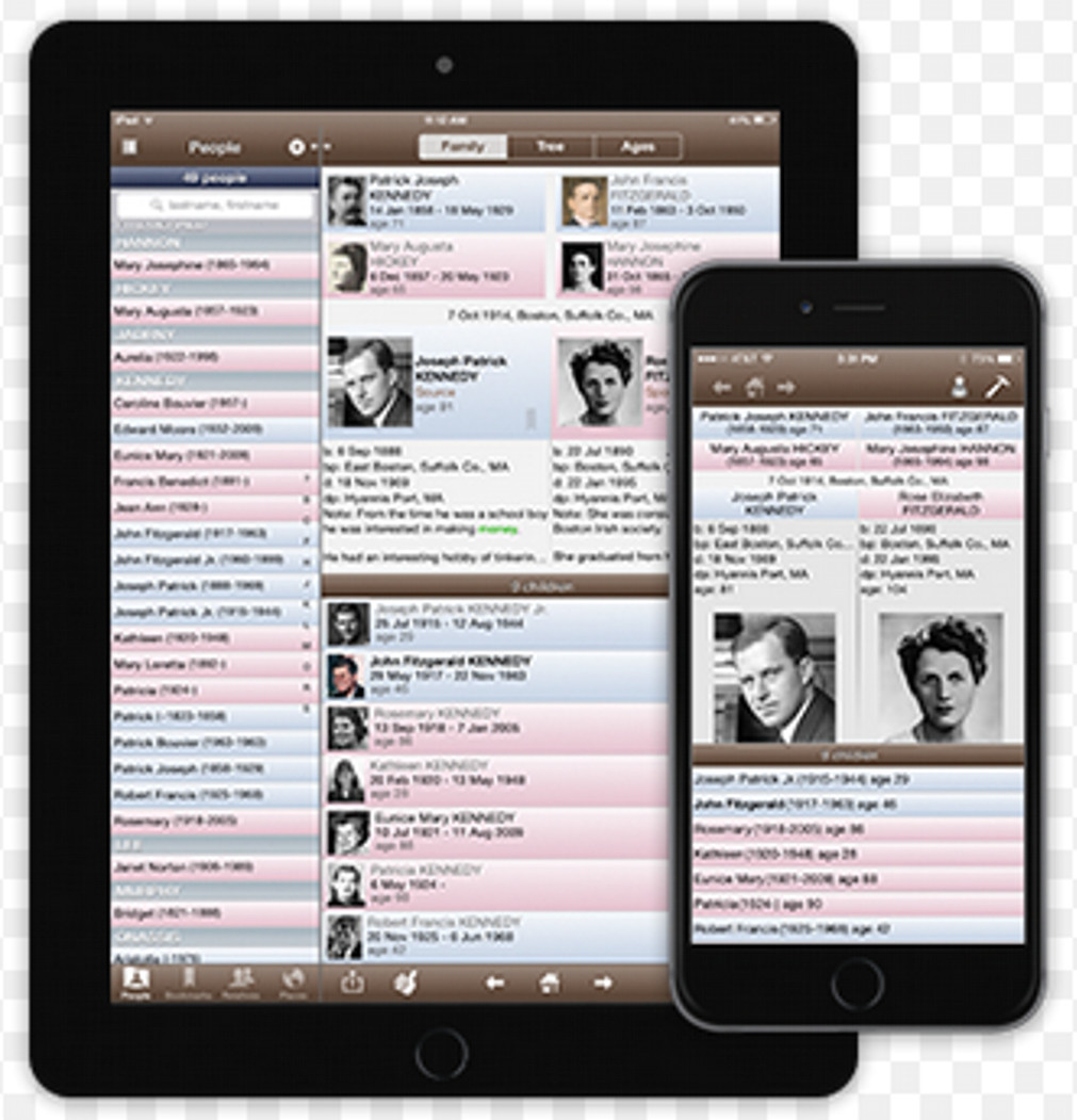 Mobile Genealogy Apps – Apps for Desktop Genealogy Software
