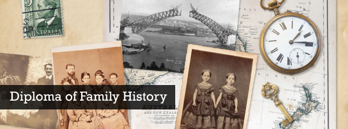 UTAS Offers Online Diploma of Family History