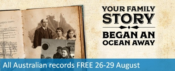 70 Million Australian Records Free to Search for Four Days