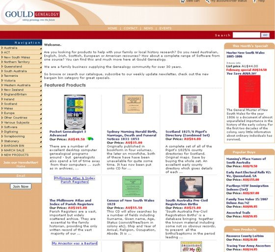 same website, with a bit of a makeover - 2007
