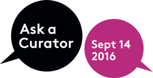 #AskACurator Day – 14 September 2016
