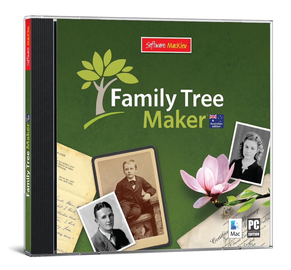 Family Tree Maker 2014.1 Arrives in Australia
