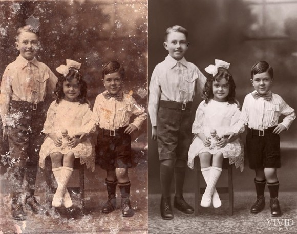 10% Off Photo Restoration by Vivid Recollection