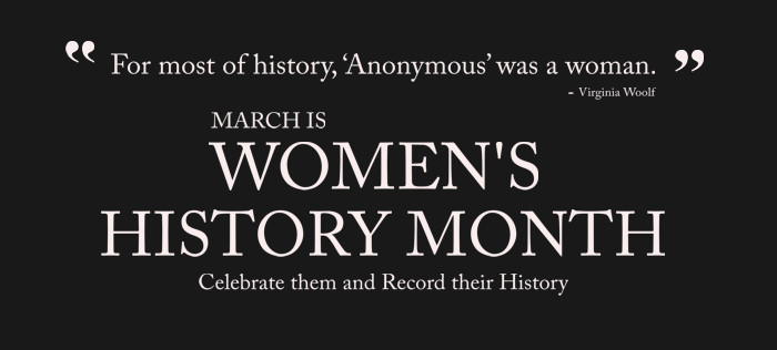 Celebrate Your Female Ancestors With Women's History Month