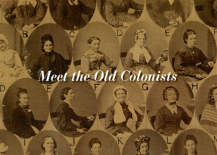 """Meet the Old Colonists"": South Australia's Pioneers"