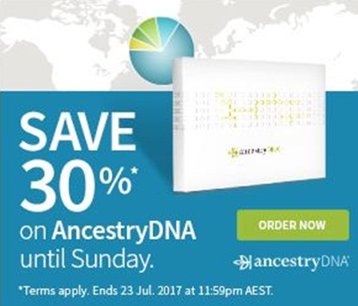 Save 30% off AncestryDNA Kits For a Limited Time