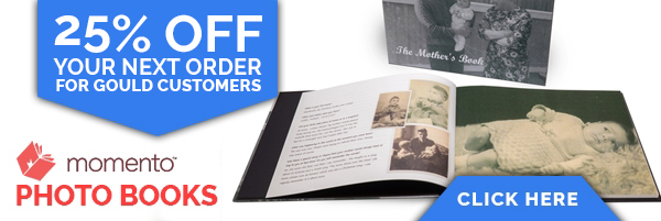 Save 25% on Photo Books from Momento