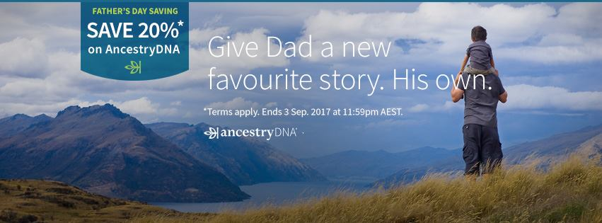 Save 20% on AncestryDNA this Father's Day