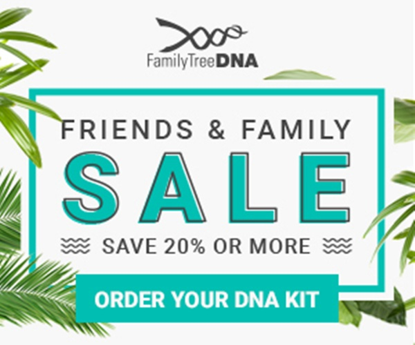 Save With Family Tree DNA's Summer Sale