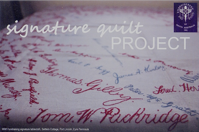 The Signature Quilt Project – Can You Help?