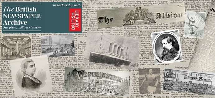 NEW: 3 Month Subscription from the British Newspaper Archive