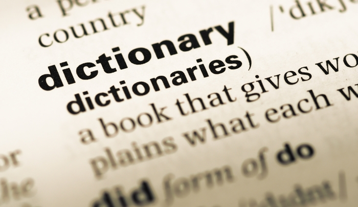 Dictionaries for Genealogy
