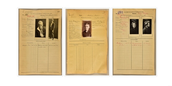46,000 New South Wales Mugshots 1870-1930 Go Online