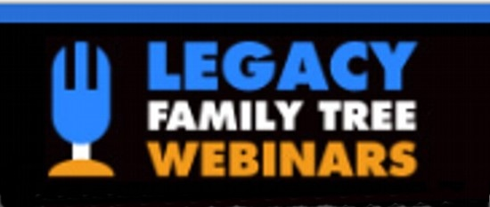 Legacy Family Tree Webinars 2018 Schedule Announced