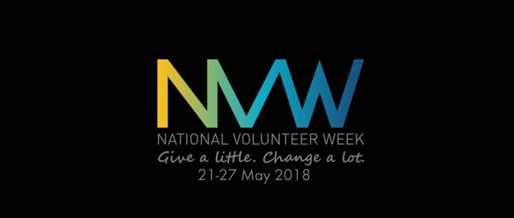 National Volunteer Week, 21-27 May 2018