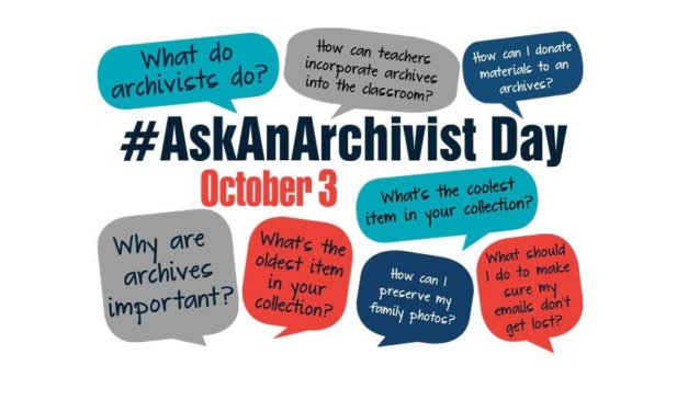 #AskAnArchivist Day – 3 October 2018