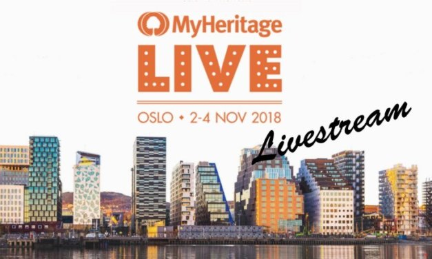 MyHeritage to Livestream Conference … for FREE