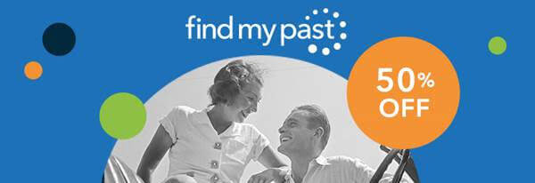 Save 50% on Findmypast 1 Month Subscriptions